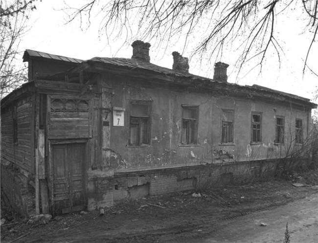 Улица Мирная на Щекавице в 1980-х годах