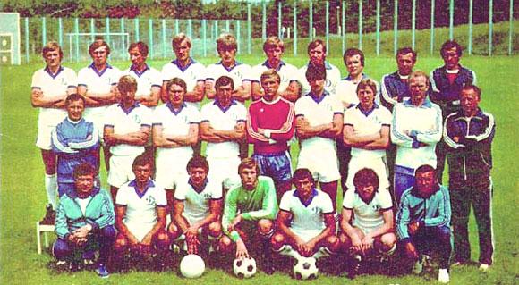 Чемпионство киевских динамовцев в 1981 году