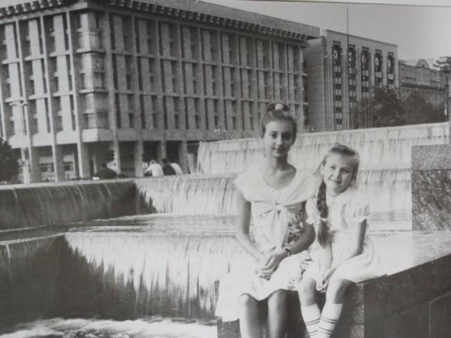 Майдан в 1990 году (в то время - площадь Октябрьской Революции)