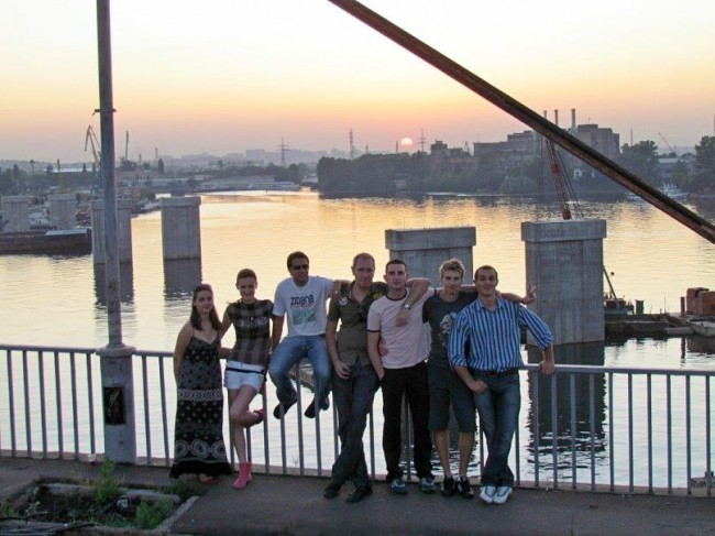 Киев - это мы, 2011 год, РЫбальский вантовый мост
