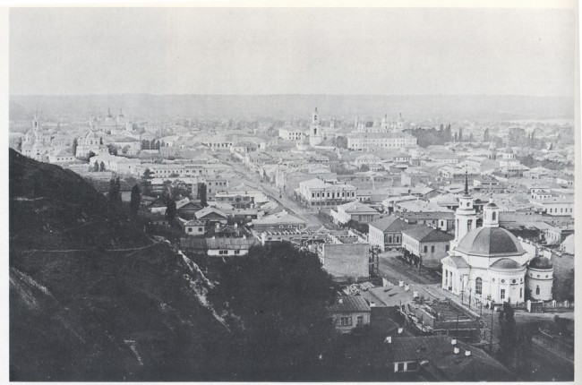 Улица Сагайдачного в конце 19 века