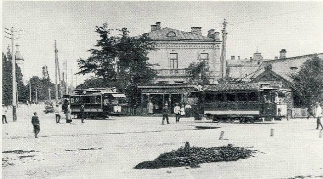 Трамваи, начало 20 века, Киев