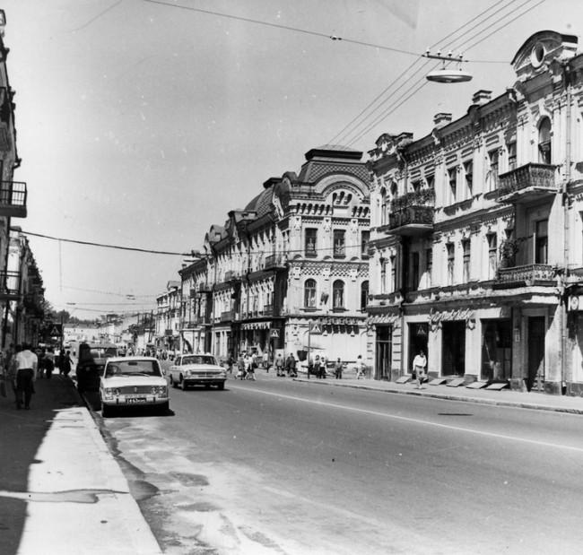 Улица Сагайдачного, в 80-е годы Жданова, Киев