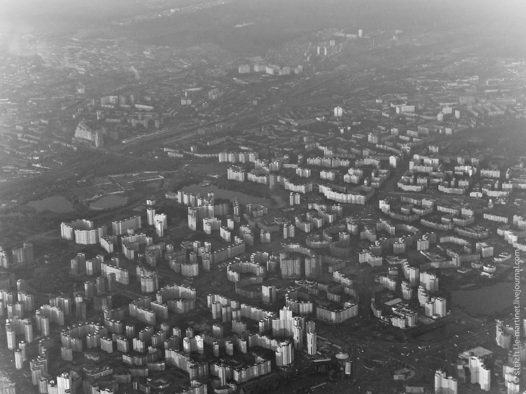 Аэрофотосъемка Левого берега в 2011 году