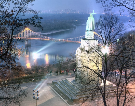 Картинки красивой зимы над городом