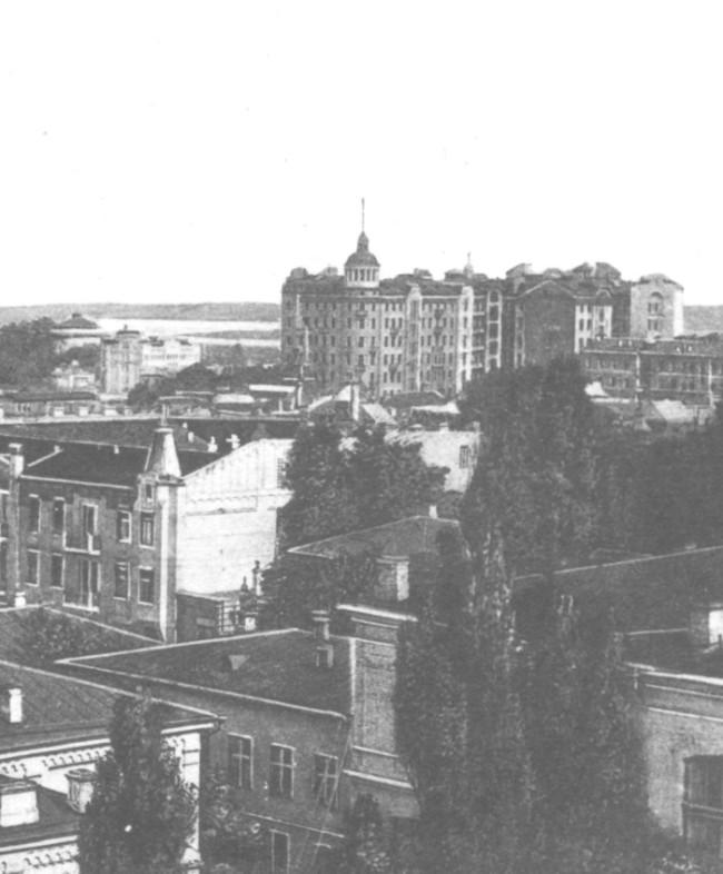 Небоскреб Гинзбурга в Киеве, начало 20 века