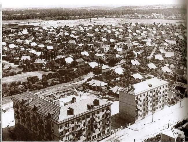 1958 год. Вид на Нивки
