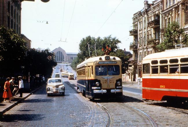 Улица Коминтерна в 59 году, Киев