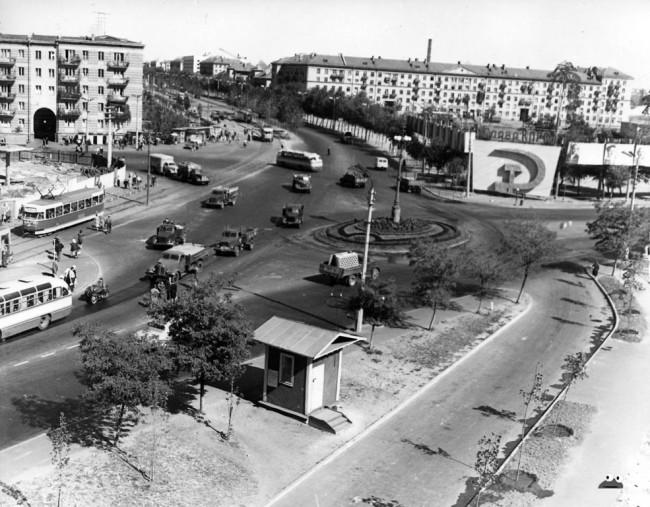 Ленинградская площадь в 64 году