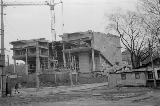 Как строили кинотеатр Киевская Русь в 80-х годах