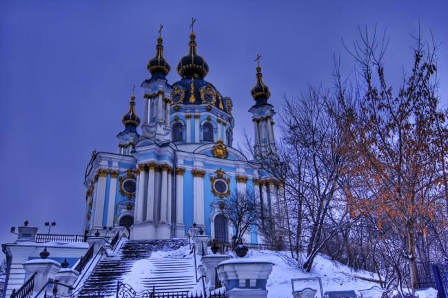 Андреевская церковь в наши дни