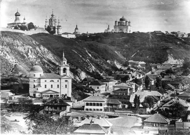 Воздвиженка (Гончары) в начале 20 века