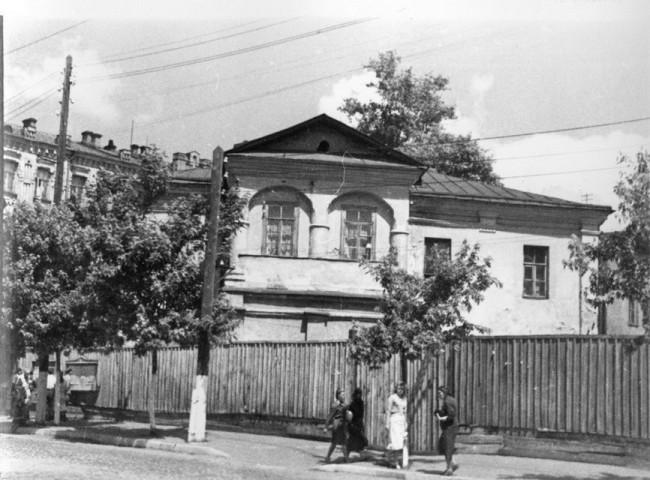 Константиновская улица в 50-х годах