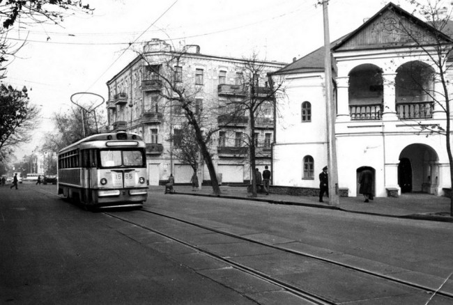 Домик Петра Первого в Киеве в 70-х годах