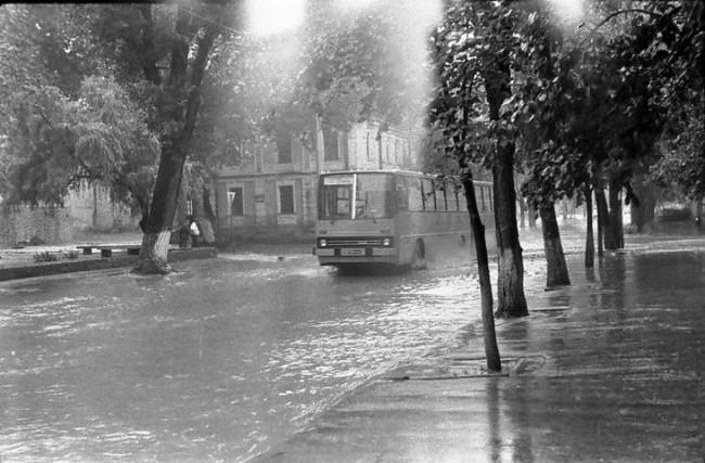 Потоп на Константиновской улице в 80-х