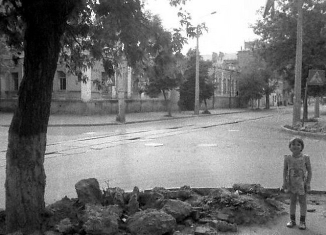 1985 год. Константиновская улица, 59/5. Угол Юрковской.