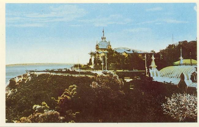 Купеческий сад в конце 19 века