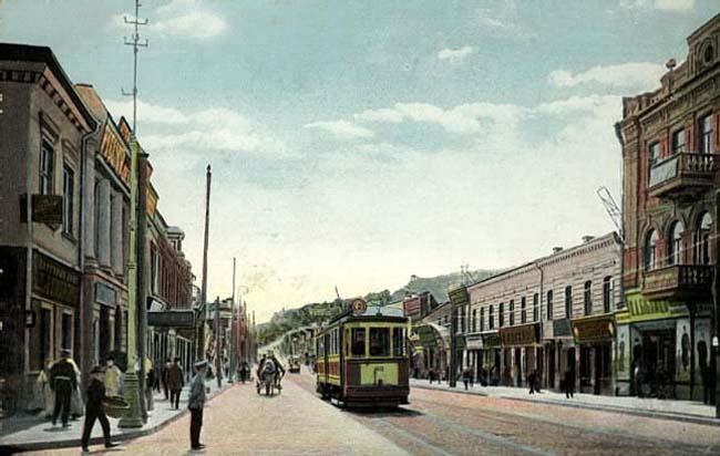 Братская улица в начале 20 века