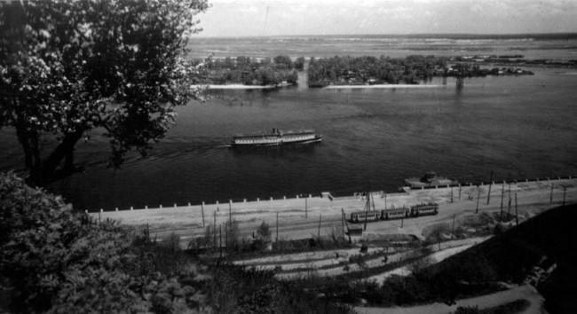 Труханов остров в 30-х годах