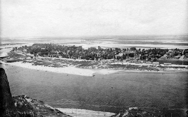 Труханов остров в 30-х годах, Днепр, Киев