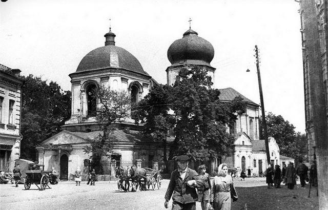 Подол, Киев, церковь Николая Чудотворца в 30-х годах