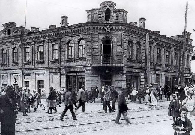 Дмитриевская улица в 30-х годах