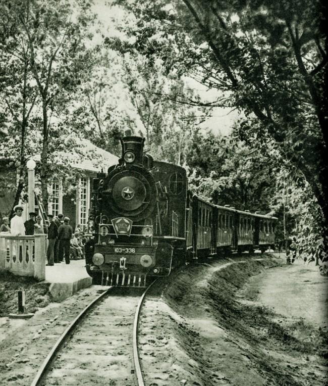 Детская железная дорога, Сырец, 50-е годы
