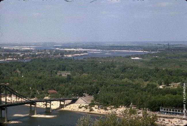 Труханов остров, Днепр, 1964 год