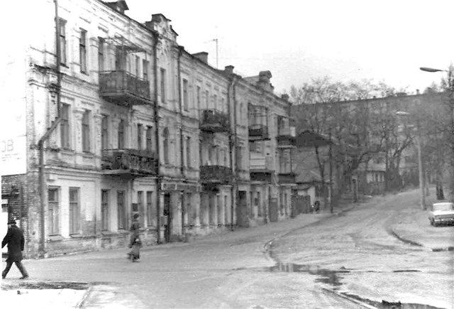 Улица Гали Тимофеевой в 70-х годах