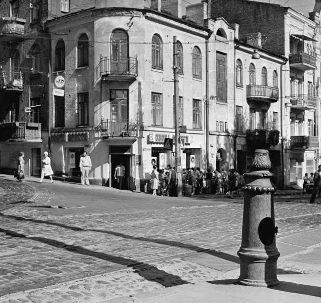 Дмитриевская улица в 80-х годах