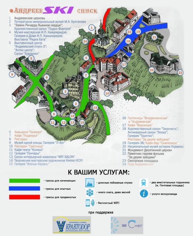 Как отдохнуть лыжнику в Киеве