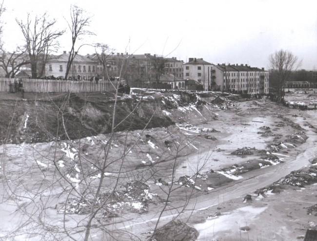 Улица Телиги после Куреневской трагедии 61 года