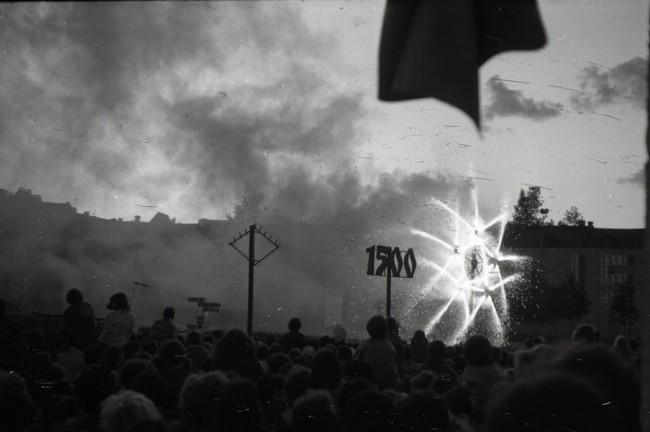 Салют на праздновании 1500-летия Киева