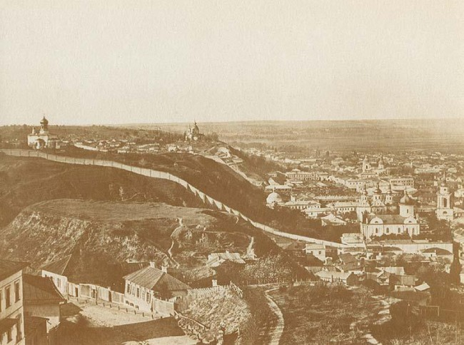 Хоревица, гора в Киеве, 19 век