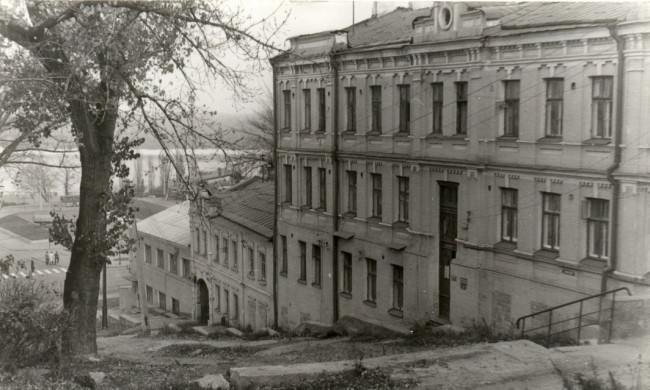 Боричев спуск, Подол, Почтовая площадь, 80-е годы