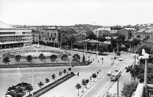 Дворец Спорта в 60-х годах в Киеве