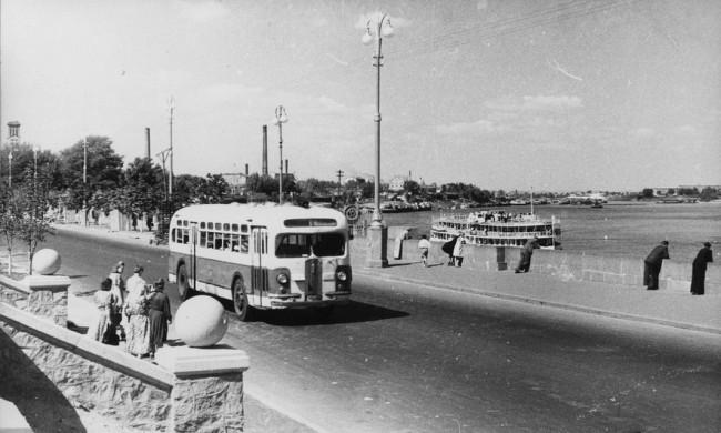 На Набережном шоссе в 80-х годах