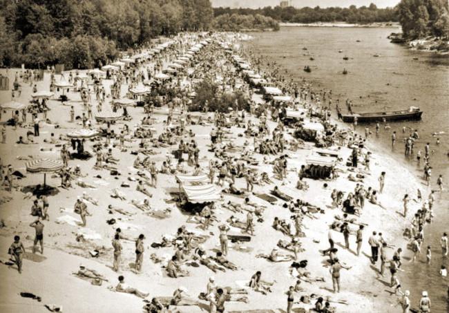 Гидропарк в Киеве в 60 году