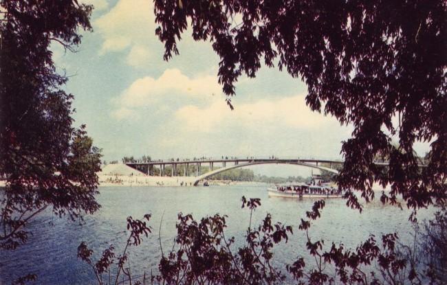 Венецианский мостик в киевском Гидропарке