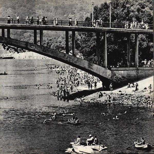 Венецианский мостик в 80-х