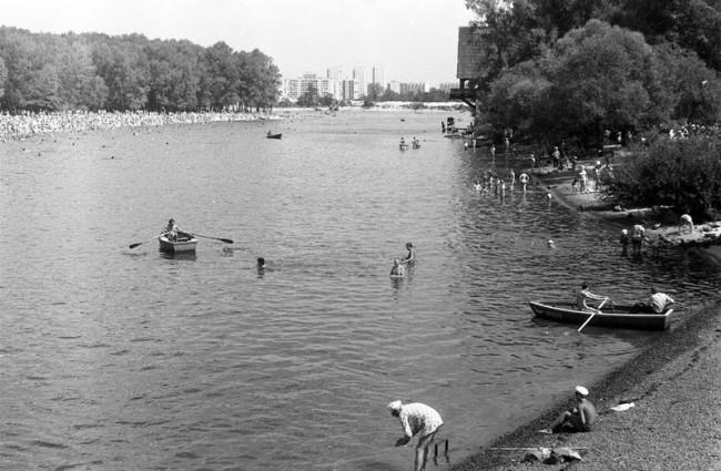 Гидропарк, Киев, 80-е