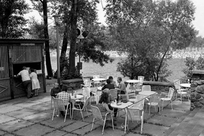 Гидропарк, Киев, летнее кафе