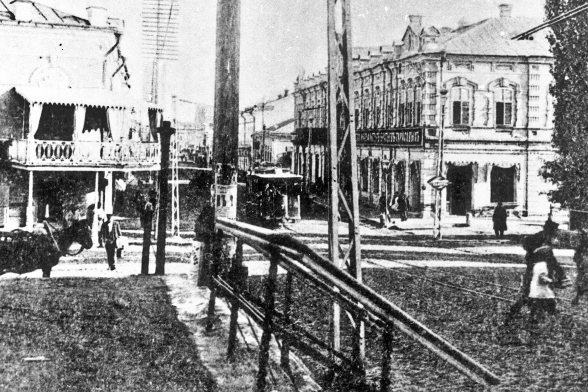 Старое фото Астрахани