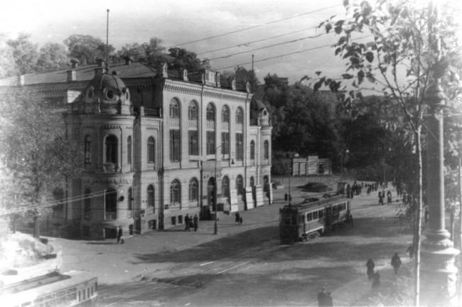 Здание филармонии в 30-х годах 20 века, Киев