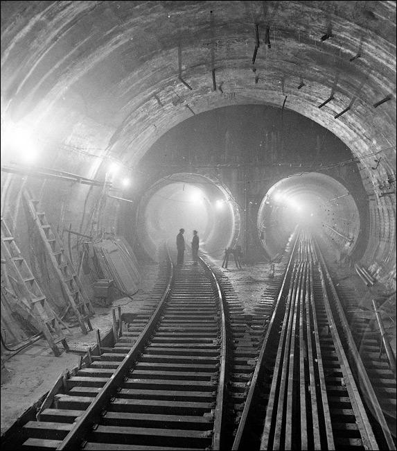 Станция метро Арсенальная 50-е годы