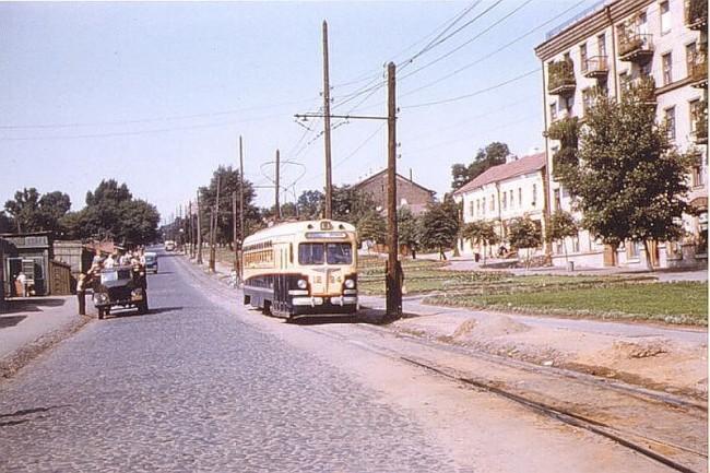 Улица Урицкого в 1959 году