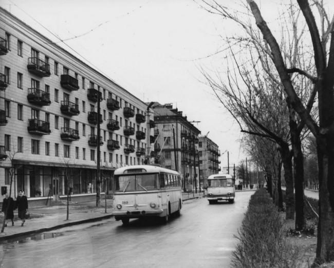 Улица Вышгородская, 60-е годы