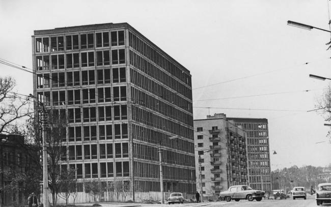 Улица Урицкого, Киев, в 1968 году