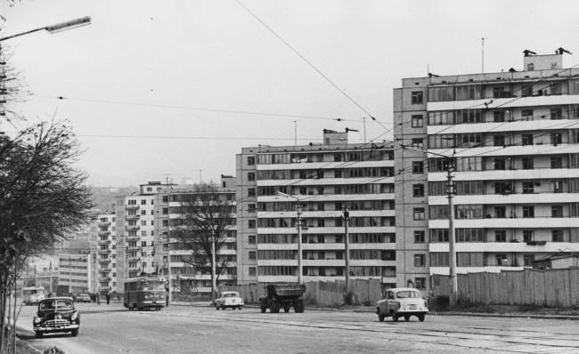 Улица Урицкого в 1968 году