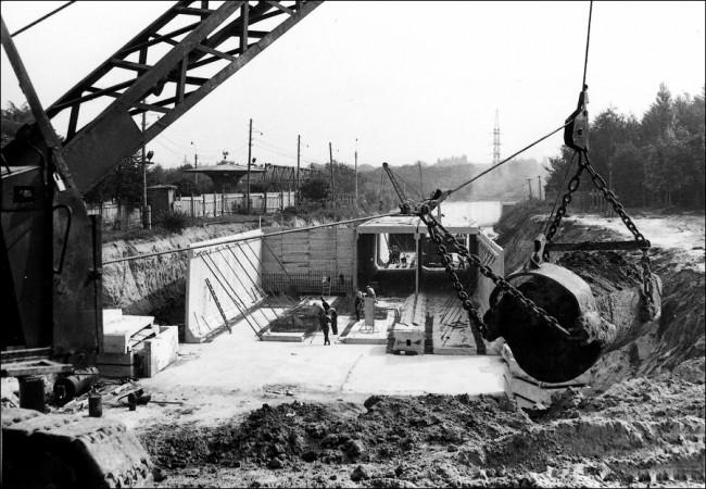 Как строили станцию метро Нивки, Киев